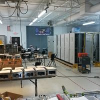 SR System in Test at HTC