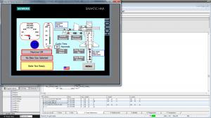 Siemens Baler Screen 1