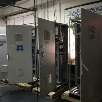 rittal bays at norec for test yanchang